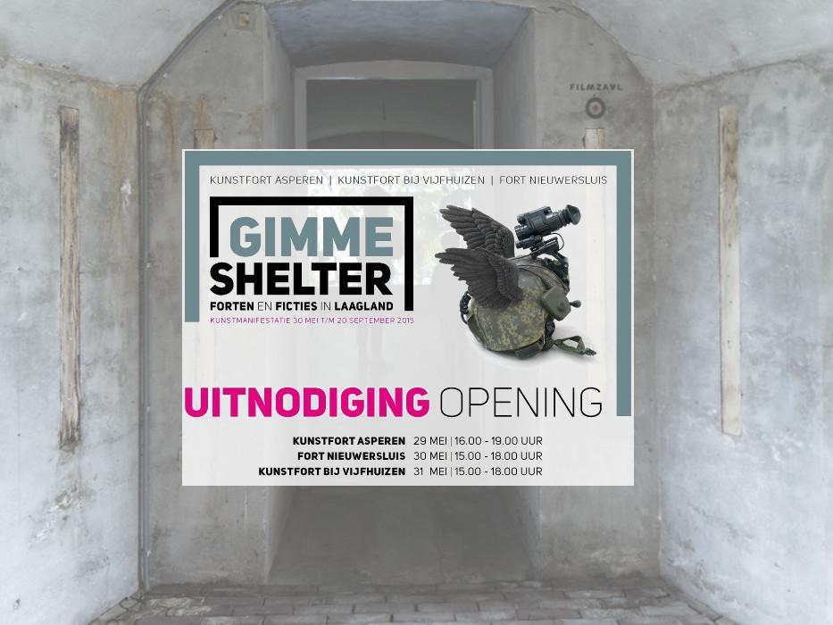 Gimme Shelter op het Kunstfort bij Vijfhuizen
